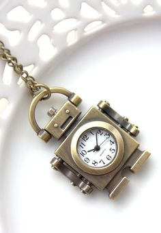 Cute Pocket Watch Retro Style Pocketwatch Working Watch by Wrhs11, €17.50