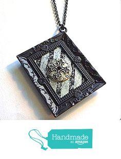 Vintage Silver Gothic Cross Pendant Necklace Wearable Art Framed from NatureAngels - Handmade, Upcycled and Vintage http://www.amazon.com/dp/B016BYFQLG/ref=hnd_sw_r_pi_dp_WLNfwb0J2MJ99 #handmadeatamazon