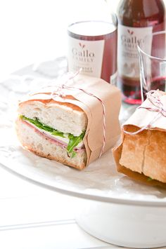Italian Hoagie Style Pressed Picnic Sandwiches for #SundaySupper, paired with #GalloFamily wines