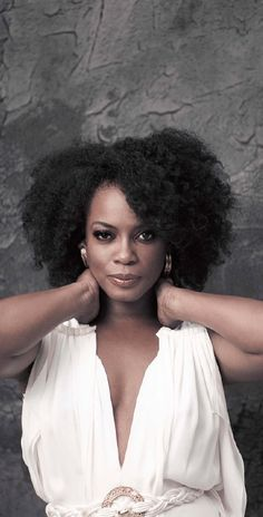 Actress Aunjane Ellis..i cant wait till my hair gets this long in its natural state!