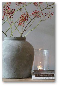 Mooie rozenbottel, voor in de groene vazen