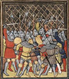 1380-1400, Frankreich