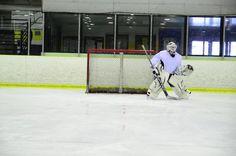 sharp pose by a mypuck goalie!