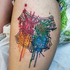 34 idées de tatouages colorés