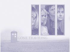 Rose & Doctor - doctor-who wallpaper
