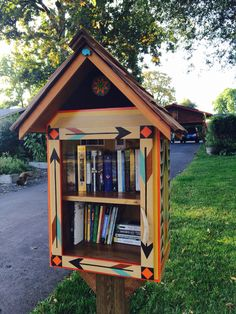 Little Free Library for our yard