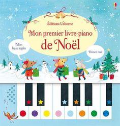 Les Mercredis de Julie : Mon premier livre-piano de Noël