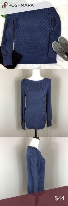 Calvin Klein Ribbed Side Zip Sweater Calvin Klein ribbed side zip sweater. Size medium. Approximate measurements flat laid are 26' long, 25' sleeves, and 17' bust. Pre-owned condition with no major flaws. This sweater is great quality and is a heavier knit. The neck line is boat shaped.  ❌I do not Trade  Or model Posh Transactions ONLY Calvin Klein Sweaters