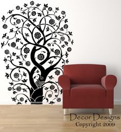 Asian Tree Wall Decal