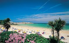 Porthminster Beach, St Ives, Cornwall - this does not look like a place in England! St Ives Cornwall, Devon And Cornwall, Cornwall England, Cornwall House, Best Beaches In England, Uk Beaches, Beach Images, Beach Photos, St Ives Beach
