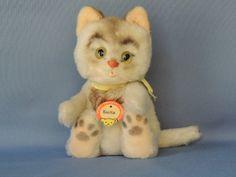 Vintage Steiff Sulla Cat Kitten Plush Toy
