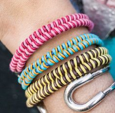 Fishtail Friendship Bracelet | AllFreeJewelryMaking.com