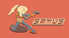 Samus Light Armor (before zero suit :P) by Dulodilz on DeviantArt