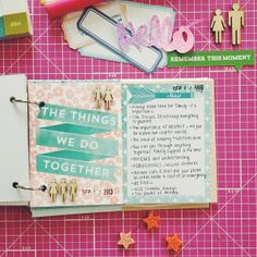 .@wandergirlcrafts | For 9.11.13 #30lists // Things my family taught me | Webstagram