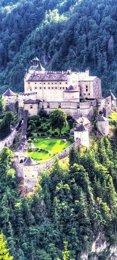 #Werfen #castle in #Austria http://en.directrooms.com/hotels/country/2-9/