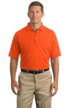 Safety 100% Cotton Pique Polo w/ pocket