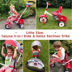 2boys1mum: Little Tikes Ride and Relax Trike