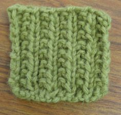 Farrow Rib Stitch is Perfect for Beginners.