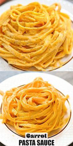 Vegetarian Recipes, Cooking Recipes, Healthy Recipes, Healthy Food, Carrot Pasta, Vegan Clean, Breakfast Recipes, Breakfast Ideas, Vegan Dishes