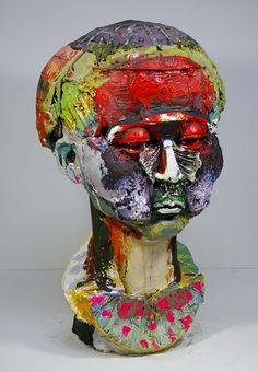 Koji Nakano Sculpture  roid works gallery Tokyo SOLD http://www.roidworksgallery.co.jp