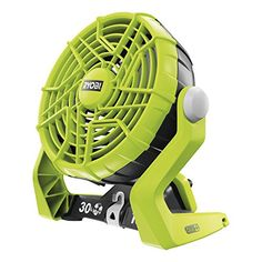 Ryobi R18F One Plus Cordless Fan - Hyper Green
