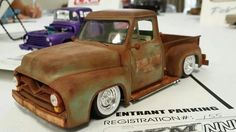55 Ford PU