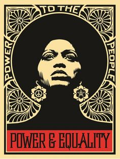 From KP Projects, Shepard Fairey, Afrocentric, Limited Edition Silkscreen of 18 × 24 in Protest Kunst, Protest Art, Protest Posters, Political Posters, Political Art, Political Campaign, Protest Signs, Plakat Design, Kunst Poster