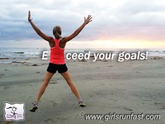 Don't just set a goal, EXCEED it! #runninginspiration