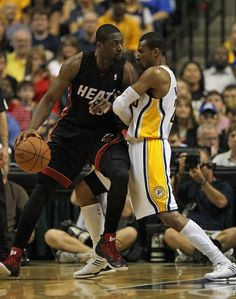 Miami Heat v Indiana Pacers - Game Four Indiana Pacers, Nba Playoffs, Miami Heat, Basketball Players, Lebron James, Athlete, Classic, Basketball