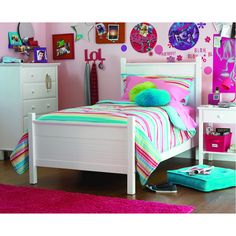 Get the Your Zone Twin Bed at Walmart.com. Save money. Live better.