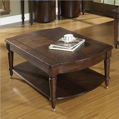 Morgan Cocktail Table by Somerton. $413.91. Casters On Feet Offer Easy Moveability. Product Weight 103.64 lb.. Finished with a deep brown prima vera stain with subtle highlighting, dry brushing and distressing. Dry/damp cloth only on furniture, no oil based cleaners. Lift-top On Cocktail Table Gives Versatility To A Classic Piece. This collection offers practical, functional elements with classical transitional designs. Note: This is only the Morgan Cocktail Table. Other items...
