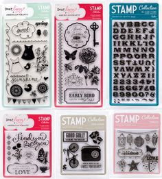 Stamps have long been a staple in scrapbooking and card making and the time is right for American Crafts to bring our clean, stylish designs to the art of stamping. Our impressive collection features both wood and clear stamps as. American Crafts, Stamp Collecting, Clear Stamps, Potpourri, Stationary, Stamping, Layouts, Craft Supplies, Card Making