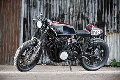 There's a new kid on the custom block. It's an English outfit called Spirit of the Seventies, and it's bucking the current European trend for all things raw and grungy. This is Spirit II, the personal ride of managing director Tim Rogers, and based on a 1979 Yamaha XS750 triple.