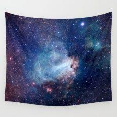 Omega Nebula Wall Tapestry