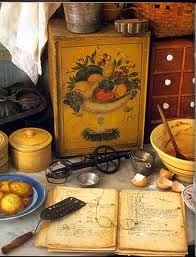 Tasha Tudor kitchen