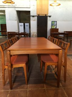 Meet The Trader: Geert Van Halewijck of Møbelfabrik Retro Furniture, Antique Furniture, Mid Century Furniture, Van, Meet, Table, Blog, Home Decor, Decoration Home