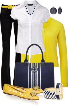 """White Blouse"" by averbeek on Polyvore"