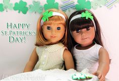 3 Ways: St. Patrick's Day Shamrock Doll Crafts (With Free Printable!)