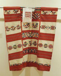Chinantec Huipil Mexico at Museo Textil Oaxaca, México