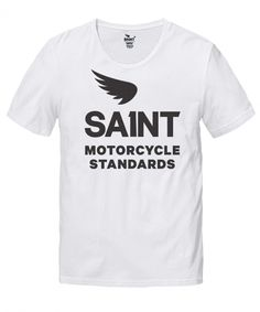 SAINT STANDARD CUT T - MOTORCYCLE STANDARDS - T-SHIRTS - TOPS