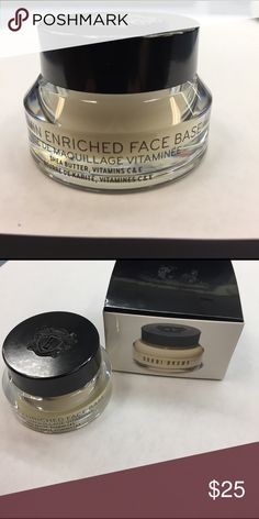 Bobbi Brown vitamin enriched face base  .5fl oz Brand-new in box Bobbi Brown vitamin enriched face base .5 fl oz / 15 ml. Bobbi Brown Makeup Face Primer