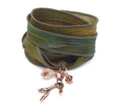 Wrap Bracelet $35.00 #brigteam #handmade #jewelry