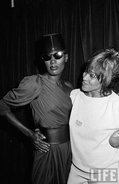Grace Jones & Tina Turner