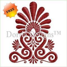 Free ornament embroidery design 359
