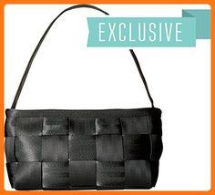 Harveys Seatbelt Bag Women's Baguette Salvage Black Shoulder Bag (*Partner Link)