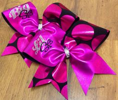 Hey, I found this really awesome Etsy listing at https://www.etsy.com/listing/171592498/cheer-bowpro-bows-of-texas
