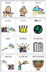 The Chanukkah blessings are illustrated with Mayer Johnson symbols to make them more accessible to prereaders, visual learners, and even adults who never learned the meaning of the prayers! Hanukkah Blessings, Mayer Johnson, Hanukkah Crafts, Hebrew School, Social Stories, Festival Lights, Special Needs, Your Child, Special Events