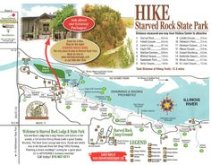 A Day At Starved Rock State Park – Illinois | Hiking, Rock and Park