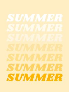 summer Art Print by type angel - X-Small Bedroom Wall Collage, Photo Wall Collage, Picture Wall, Aesthetic Collage, Quote Aesthetic, Aesthetic Photo, 70s Aesthetic, Aesthetic Yellow, Aesthetic Vintage