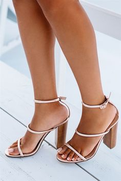 Buy Piper Heel - Rose Gold Online - Shoes - Women's Clothing & Fashion…